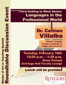 roundtable MAT languages in prof world